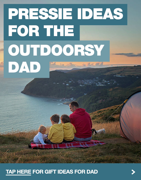 Get your Dad something he can use in the great outdoors this Fathers Day