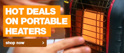 Keep your fingers toasty warm when camping this winter with these hot deals on portable heaters.