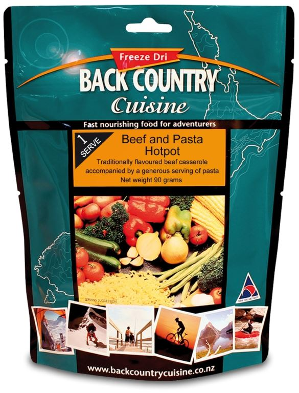 Picture of Back Country Cuisine Beef & Pasta Hotpot