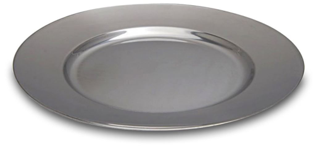 Picture of Rocket SS Flat Dinner Plate 25cm
