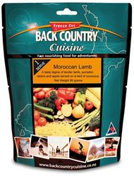 Picture of Back Country Cuisine Moroccan Lamb