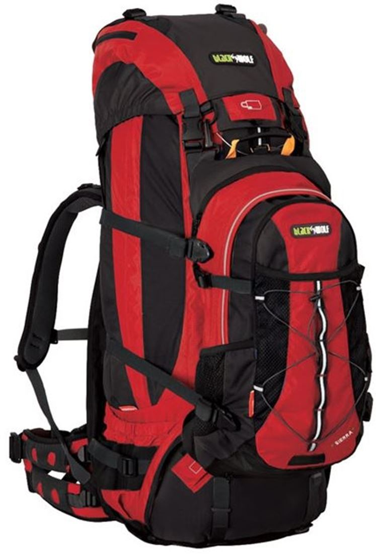 Picture of Black Wolf Sierra 85L Hybrid Pack