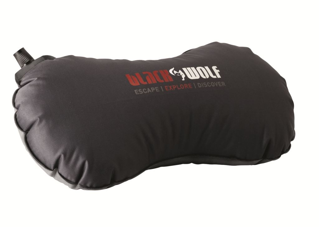 Picture of Black Wolf Travel Pillow - Regular