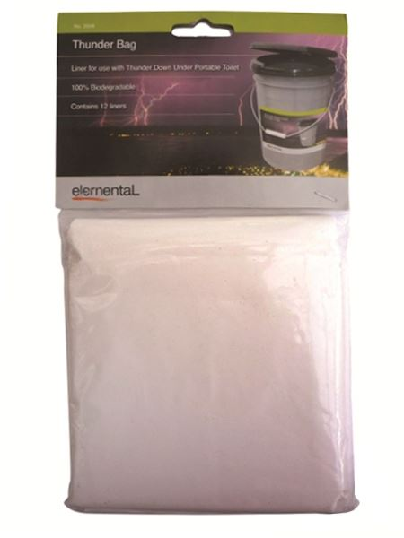 Picture of Elemental Bio-degradable Toilet Bag Liner
