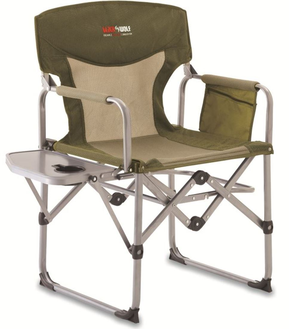 Picture of Black Wolf Compact Directors Chair Khaki