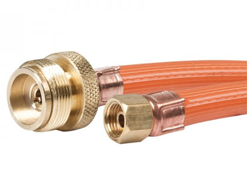 "Picture of Companion BOM to 3/8"" BSP High Pressure Gas Hose 150cm"