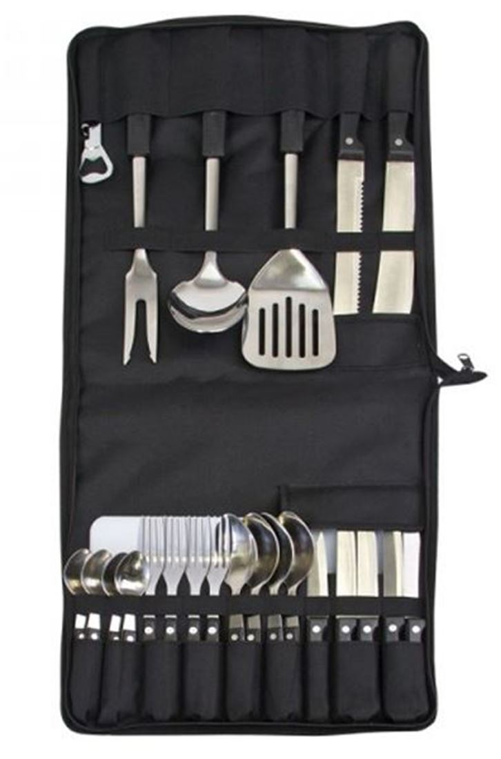 Picture of Campfire 4 Person Utensil Set & Storage Pouch
