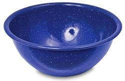 Picture of Campfire Enamel Bowl Blue Speckle