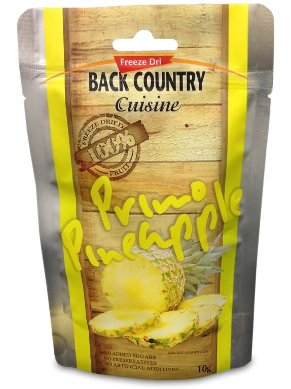 Picture of Back Country Cuisine Primo Pineapple GF 10g
