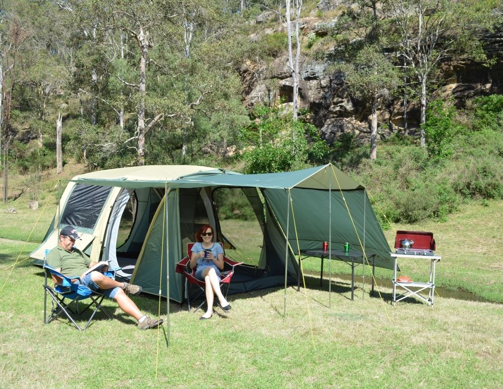 Outdoor Connection Bedarra Family Dome Tent Snowys Outdoors