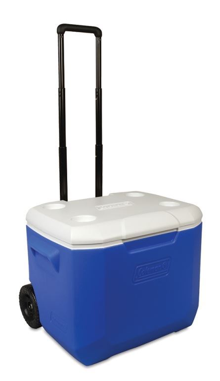 Coleman Wheeled Cooler 42L - Handle fully extended