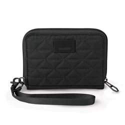 Picture of Pacsafe RFIDsafe W100 Travel Wallet Black