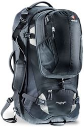 Picture of Deuter Traveller 70+10 Travel Pack - Black/Silver