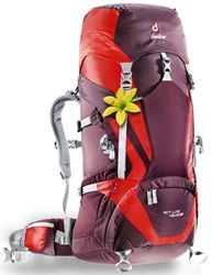 Picture of Deuter ACT Lite 45+10 SL Daypack Aubergine/Fire