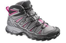 Picture of Salomon X Ultra Mid 2 GTX Women's Shoe Detroit/Autobahn/Hot Pink