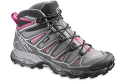 Picture of Salomon X Ultra Mid 2 GTX Women's Shoe Detroit/Autobahn/Hot Pink