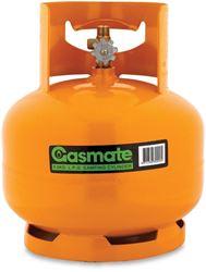 "Picture of Gasmate 3 kg 3/8"" BSP Gas Cylinder"