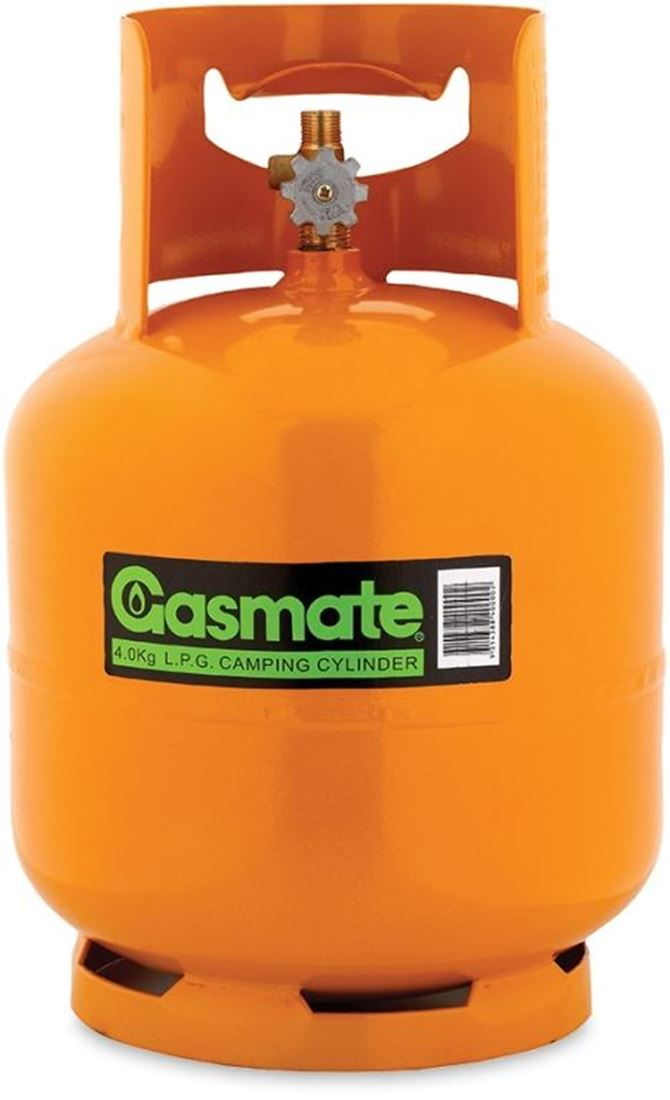 "Picture of Gasmate 3/8"" BSP Camping Gas Cylinder - 4 kg"