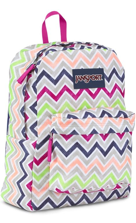 Picture of Superbreak 25L Backpack - Pink Chevron