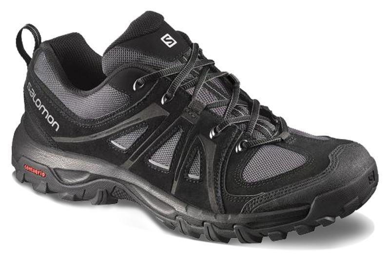 Picture of Evasion Leather Mens Shoe US 11 - Black