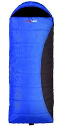Picture of Black Wolf Zambezie Jumbo Hooded Sleeping Bag (-6°) Blue