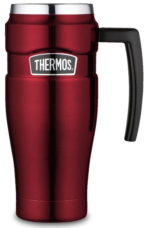 Picture of Stainless King Travel Mug - Red