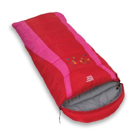 Picture of Buckley Kids Sleeping Bag - Red