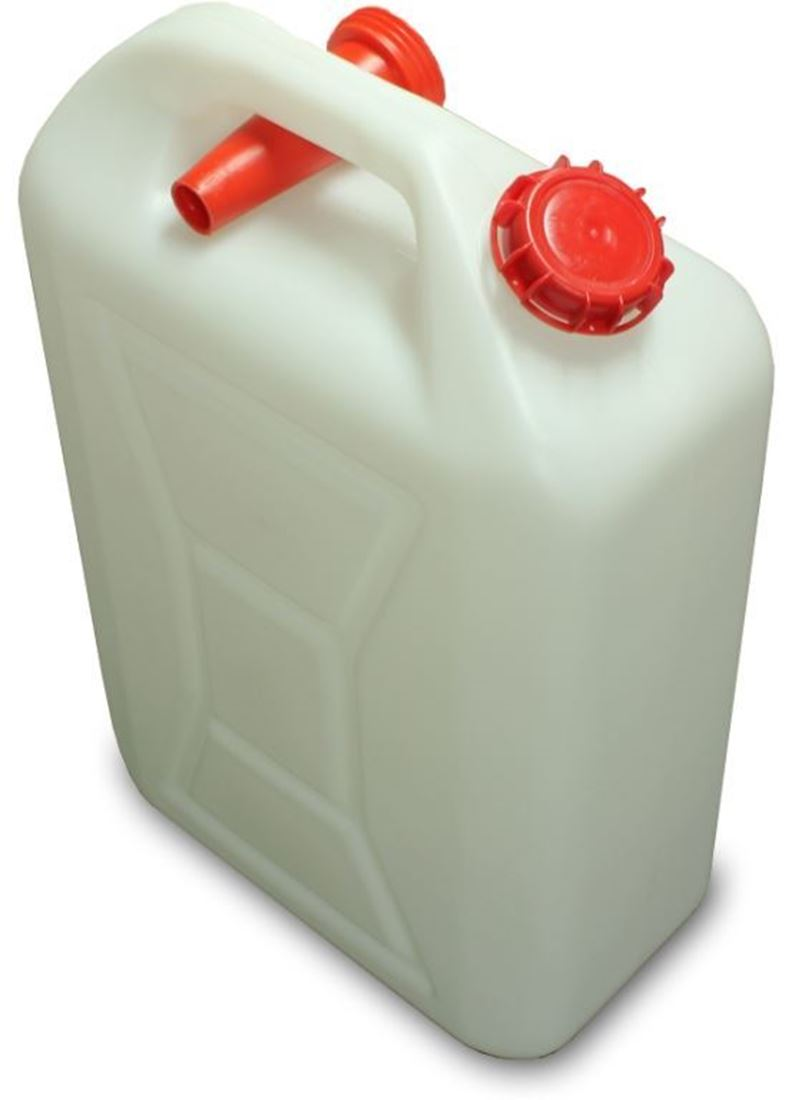 MB Agencies Plastic Water Jerry Can with Pourer 10L