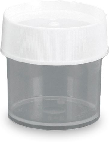 Picture of Polypropylene Straight Sided Jars 125ml
