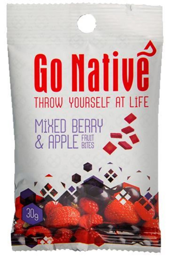 Picture of Go Native Mixed Berry & Apple Fruit Bites