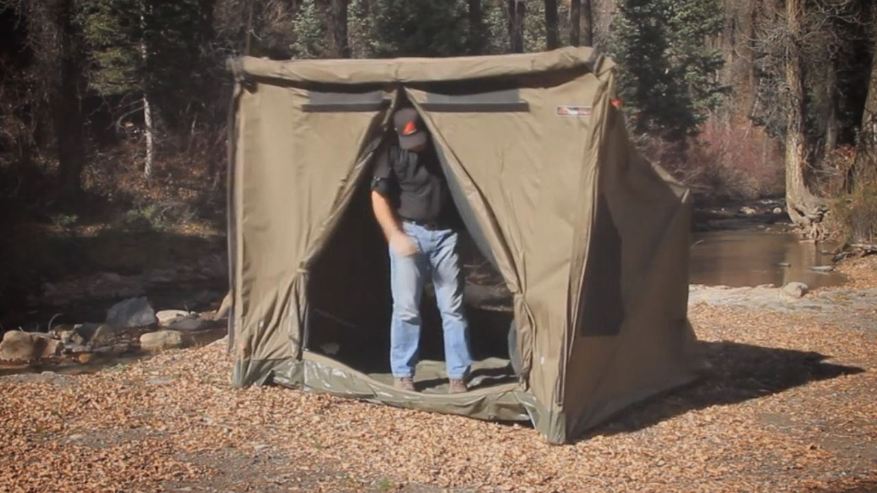 RV1 Canvas Touring Tent - Video