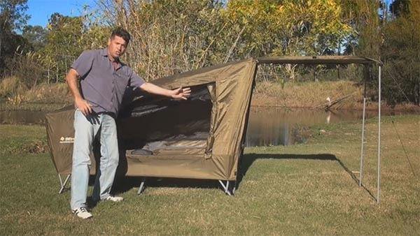 Easy Fold Stretcher Tent - Video
