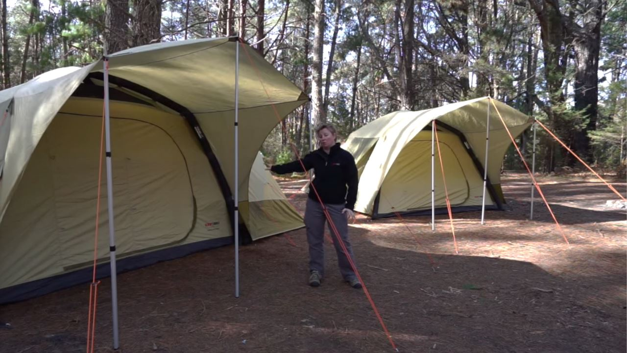 Turbo Air Twin Tent - Video
