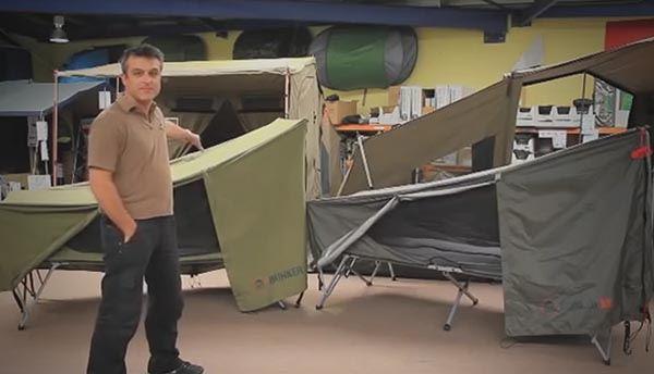 Jet Tent Bunker XL Stretcher  - Video