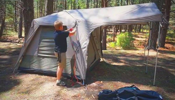 Turbo 300 Tent - Video