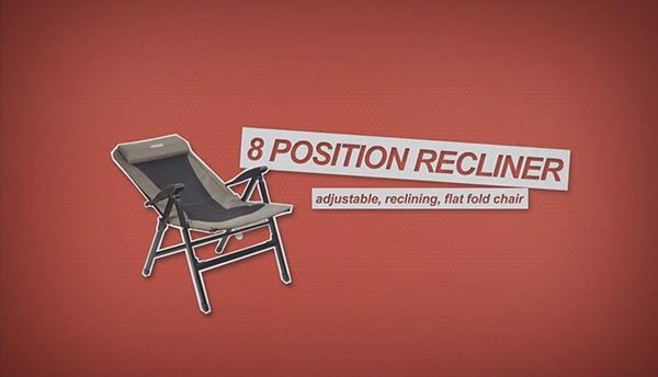 8 Position Recliner Chair - Video