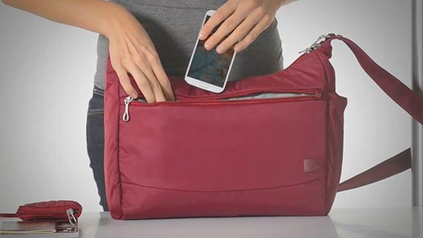 Citysafe CS200 Travel Handbag - Video