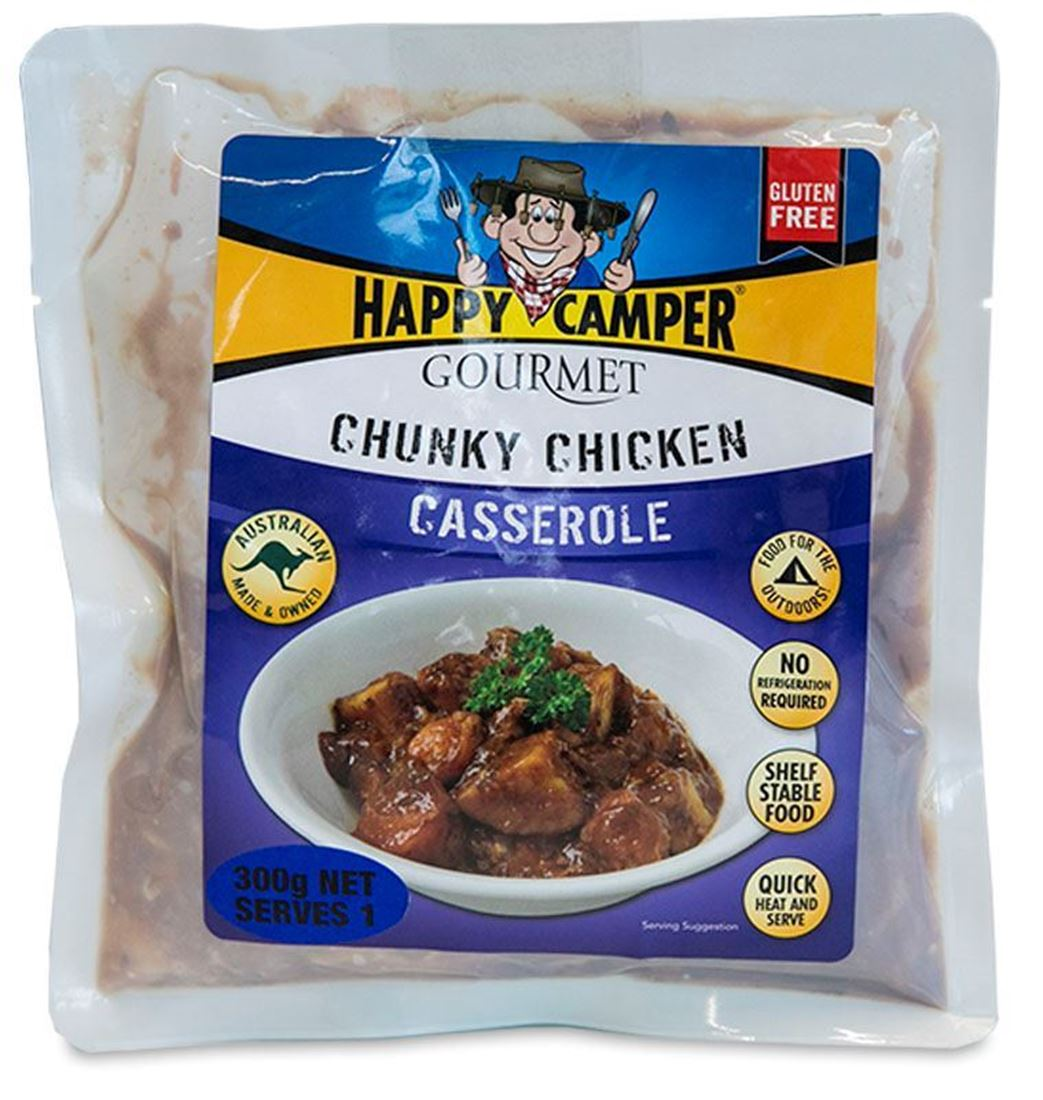 Picture of Happy Camper Gourmet Chunky Chicken Casserole