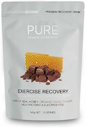 Picture of Pure Sports Nutrition Exercise Recovery Powder - Honey/Cacao