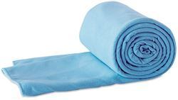 360 Degrees Compact Microfibre Towel Small Blue