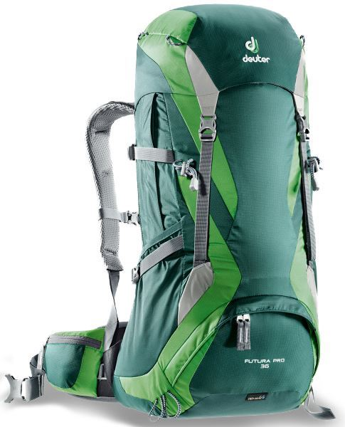 Deuter Futura Pro 36 Hiking Pack Forest Emerald