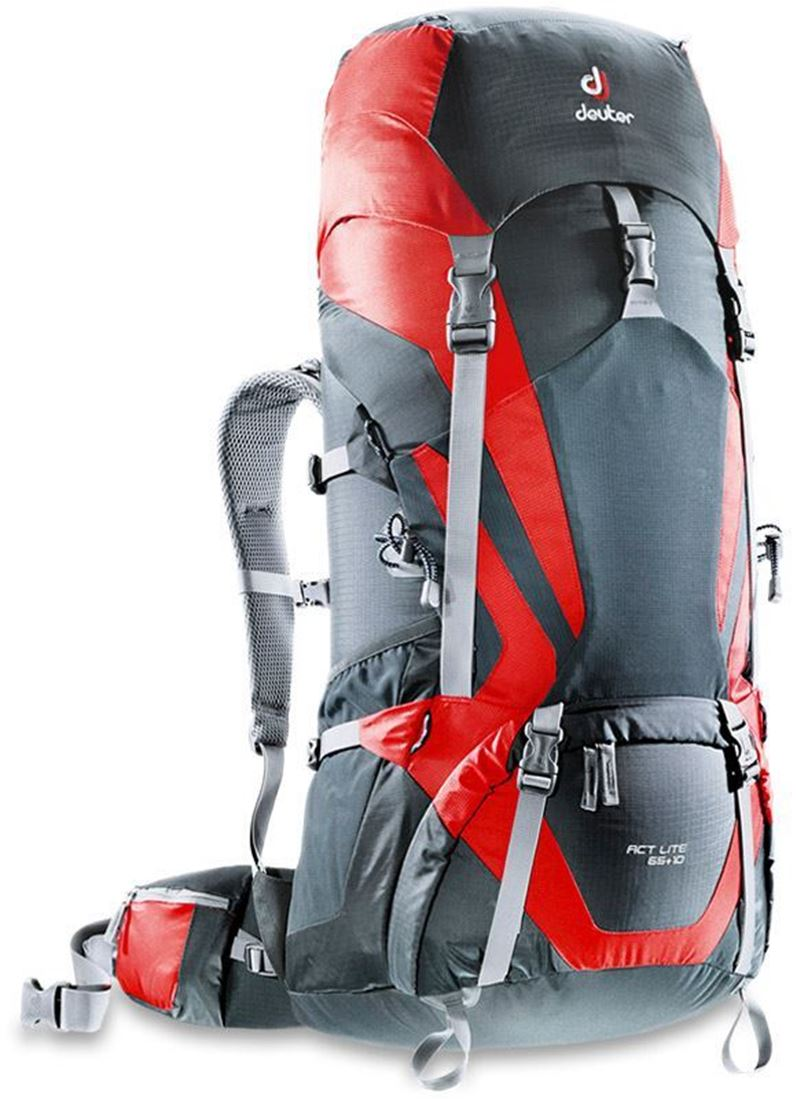 Deuter ACT Lite 65+10 Rucksack Granite Fire