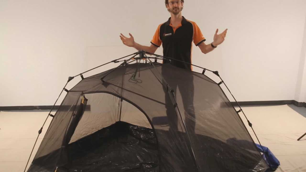 Mozzie Mesh Tent Large - Video