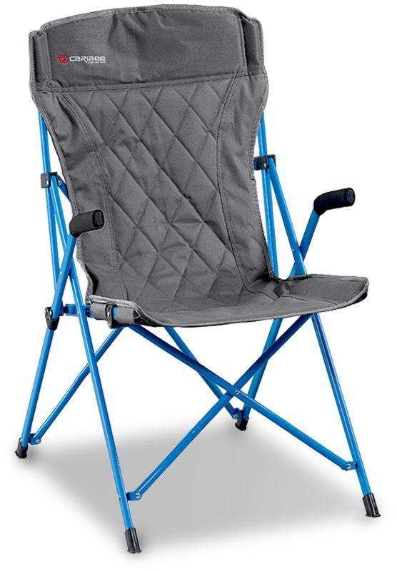 Caribee Chieftain Chair Grey Blue