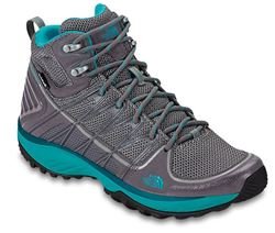 Picture of The North Face Litewave EXP Mid WP Wmn's Boot Steeple Grey/Bluebird