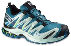 Picture of Salomon XA Pro 3D GTX Wmn's Shoe Gog Blue/Igloo Blue/Tonic Green