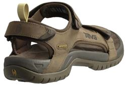 Teva Tanza Men's Leather Sandal Back