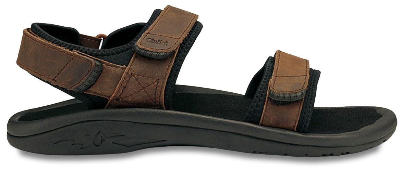 22b11c863eb5 Olukai Hokua Pahu Men s Sandal Dark Java