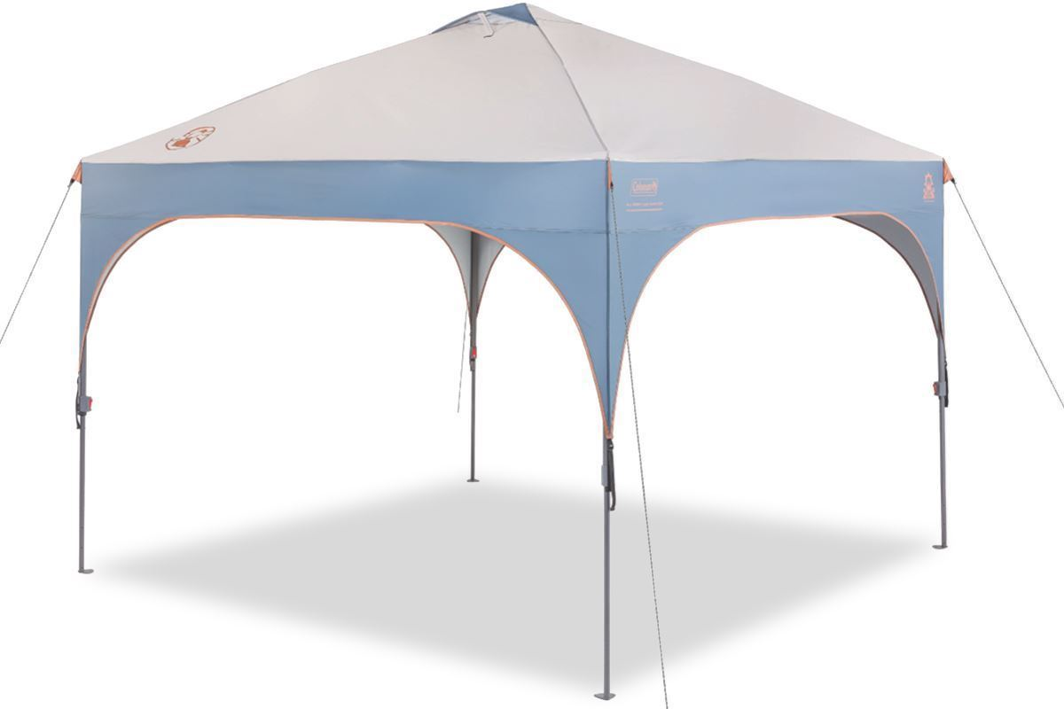 Coleman All Night Instant Lighted Shelter Set Up 1
