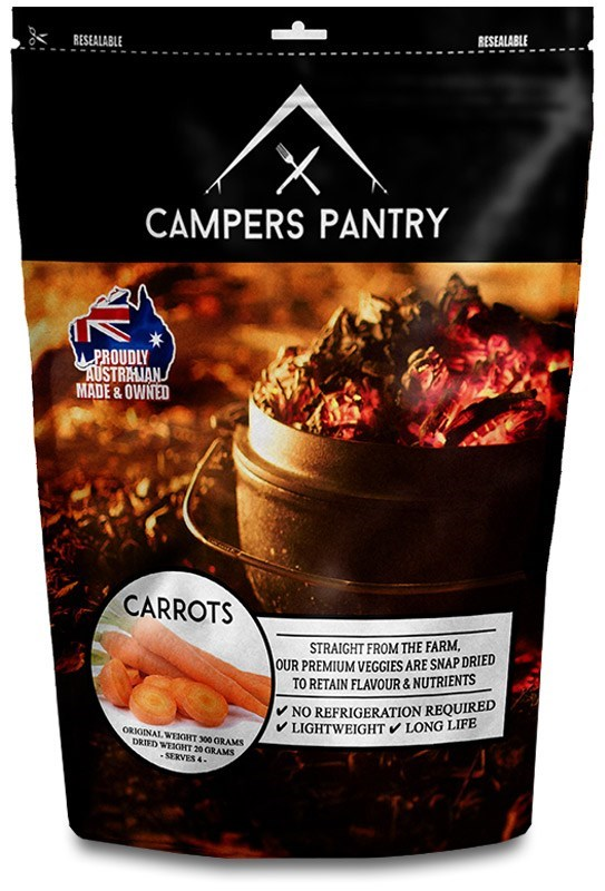 Campers Pantry Freeze Dried Carrots